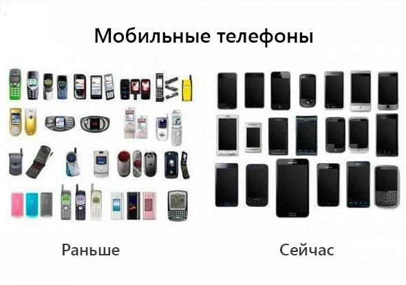 мобильные-раньше-сейчас
